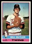 1976 Topps #619  Bill Butler  Front Thumbnail