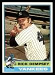 1976 Topps #272  Rick Dempsey  Front Thumbnail