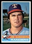1976 Topps #226  Jim Sundberg  Front Thumbnail