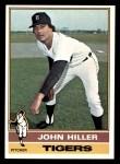 1976 Topps #37  John Hiller  Front Thumbnail