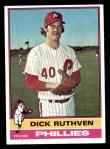 1976 Topps #431  Dick Ruthven  Front Thumbnail