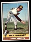 1976 Topps #557  Dan Spillner  Front Thumbnail