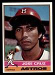 1976 Topps #321  Jose Cruz  Front Thumbnail