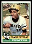 1976 Topps #36  Frank Taveras  Front Thumbnail