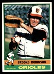 1976 Topps #95  Brooks Robinson  Front Thumbnail