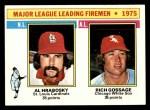 1976 Topps #205   -  Al Hrabosky / Goose Gossage Leading Firemen Front Thumbnail