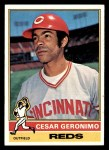 1976 Topps #24  Cesar Geronimo  Front Thumbnail