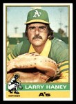 1976 Topps #446  Larry Haney  Front Thumbnail