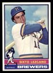 1976 Topps #353  Sixto Lezcano  Front Thumbnail