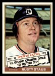 1976 Topps Traded #120 T Rusty Staub  Front Thumbnail