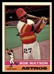 1976 Topps #20  Bob Watson  Front Thumbnail