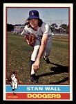 1976 Topps #584  Stan Wall  Front Thumbnail