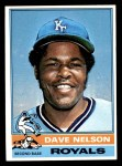 1976 Topps #535  Dave Nelson  Front Thumbnail