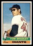1976 Topps #644  Tom Bradley  Front Thumbnail