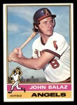 1976 Topps #539  John Balaz  Front Thumbnail