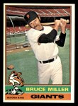 1976 Topps #367  Bruce Miller  Front Thumbnail