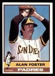 1976 Topps #266  Alan Foster  Front Thumbnail