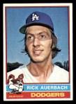 1976 Topps #622  Rick Auerbach  Front Thumbnail