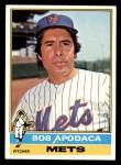 1976 Topps #16  Bob Apodaca  Front Thumbnail