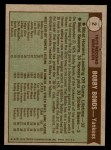 1976 Topps #2   -  Bobby Bonds Record Breaker Back Thumbnail