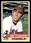 1976 Topps #129  Andy Etchebarren  Front Thumbnail