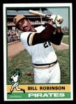 1976 Topps #137  Bill Robinson  Front Thumbnail