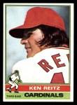 1976 Topps #158  Ken Reitz  Front Thumbnail