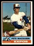 1976 Topps #287  Pete Mackanin  Front Thumbnail