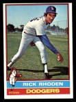 1976 Topps #439  Rick Rhoden  Front Thumbnail