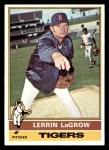 1976 Topps #138  Lerrin LaGrow  Front Thumbnail