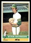 1976 Topps #534  Stan Bahnsen  Front Thumbnail