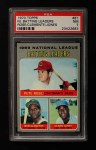 1970 Topps #61   -  Roberto Clemente / Pete Rose / Cleon Jones NL Batting Leaders Front Thumbnail