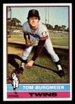 1976 Topps #87  Tom Burgmeier  Front Thumbnail