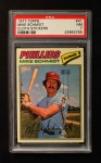1977 Topps Cloth #41  Mike Schmidt  Front Thumbnail
