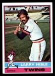 1976 Topps #59  Larry Hisle  Front Thumbnail