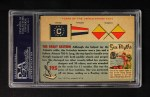 1955 Topps Rails & Sails #195   Great Eastern Back Thumbnail