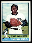 1976 Topps #123  Walt Williams  Front Thumbnail