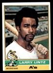 1976 Topps #109  Larry Lintz  Front Thumbnail