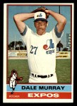 1976 Topps #18  Dale Murray  Front Thumbnail