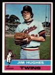 1976 Topps #11  Jim Hughes  Front Thumbnail