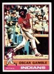 1976 Topps #74  Oscar Gamble  Front Thumbnail