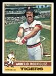 1976 Topps #267  Aurelio Rodriguez  Front Thumbnail