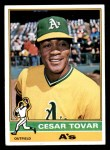 1976 Topps #246  Cesar Tovar  Front Thumbnail