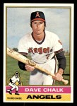 1976 Topps #52  Dave Chalk  Front Thumbnail
