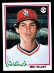1978 Topps #88  Mike Phillips  Front Thumbnail