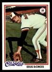 1978 Topps #9  Doug DeCinces  Front Thumbnail