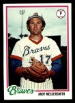 1978 Topps #156  Andy Messersmith  Front Thumbnail