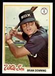 1978 Topps #519  Brian Downing  Front Thumbnail