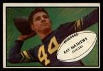 1953 Bowman #78  Ray Mathews  Front Thumbnail