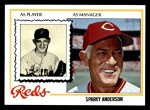 1978 Topps #401  Sparky Anderson  Front Thumbnail